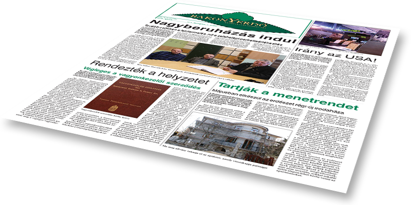 Bakonyerdő Zrt. - Vállalati újság 2016 április